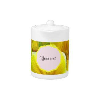 Yellow Primroses Teapot