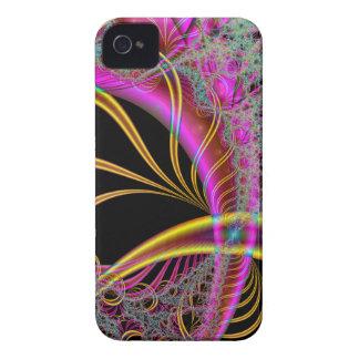 Yellow-Purple Dreamscape iPhone 4 Case-Mate Cases