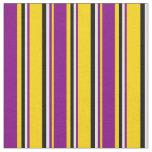 [ Thumbnail: Yellow, Purple, Light Cyan, and Black Colored Fabric ]