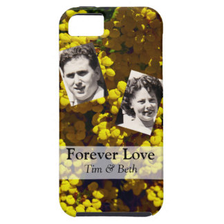 Yellow Purse Flowers iPhone SE/5/5s Case