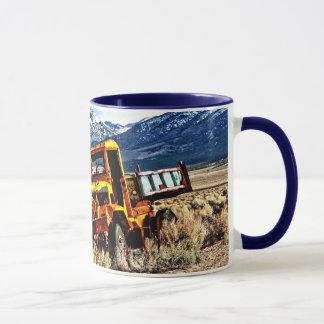 Yellow Quarry Truck Mug