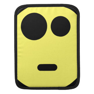 Yellow Questioning Smiley Face Sleeves For iPads