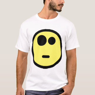 Yellow Questioning Smiley Face T-Shirt
