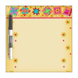 Yellow Quilt Block Dry Erase Board