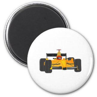 Yellow Racecar Magnets