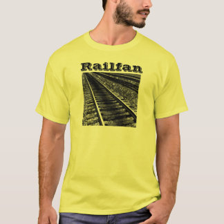 Yellow Railfan Apparel T-Shirt