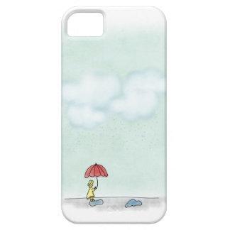 Yellow Raincoat iPhone 5 Case