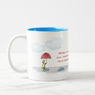 Yellow Raincoat Mug
