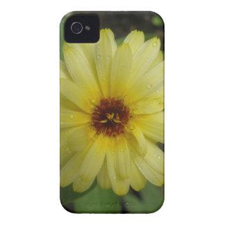 Yellow Raindrops Marigold iPhone 4 Case