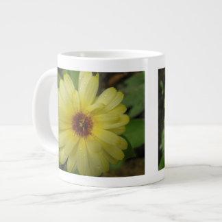 Yellow Raindrops Marigold Mug