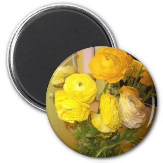 Yellow Ranaculous Refrigerator Magnet