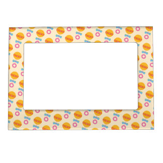 Yellow Rattles Magnetic Picture Frame
