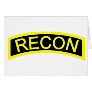 Yellow Recon Tab Cards