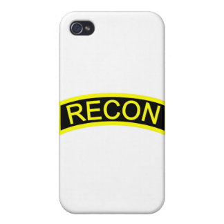 Yellow Recon Tab Covers For iPhone 4