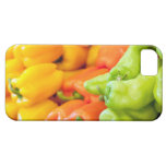 Yellow, red and green pepper on sale at farmer's iPhone SE/5/5s case