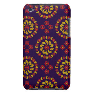 Yellow Red And Purple Paisleys iPod Case