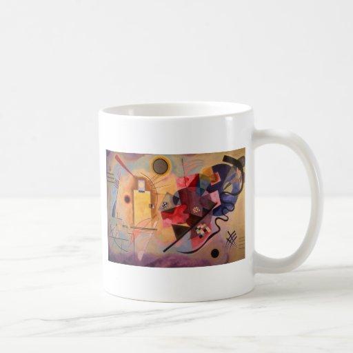 Yellow Red Blue Classic White Coffee Mug