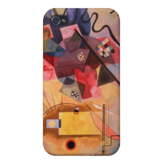 Yellow Red Blue iPhone 4/4S Case