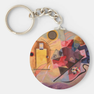 Yellow Red Blue Keychain