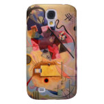 Yellow Red Blue Samsung Galaxy S4 Cover
