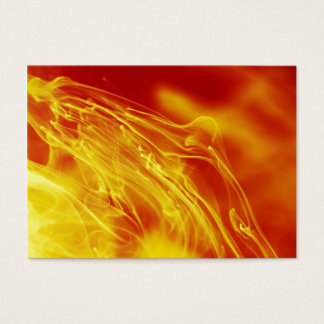 Yellow Red Fire Ink Drop Photography Business Card