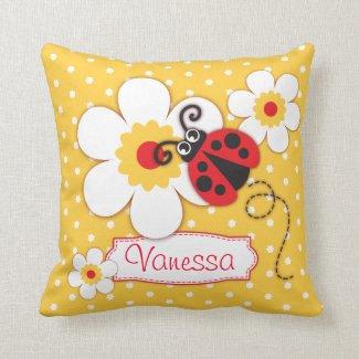 Ladybug polka dot