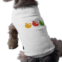 Yellow Red Green Apple T-Shirt