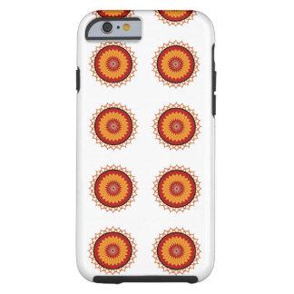 Yellow Red Lotus Iphone6 Case