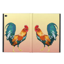 Yellow Red Rooster Bird Powis iPad Air 2 Case