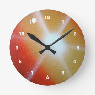 Yellow Moon Wall Clocks Zazzle