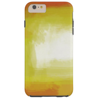 Yellow Red White Colorful Abstract Artwork Tough iPhone 6 Plus Case