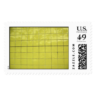 Yellow Reflection Postage Stamps