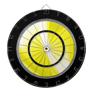 Yellow Regulation Dart Board