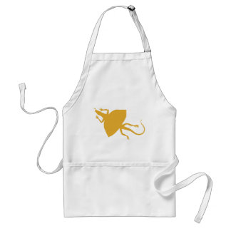 Yellow reptile adult apron