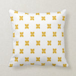 yellow retro cushion pillows