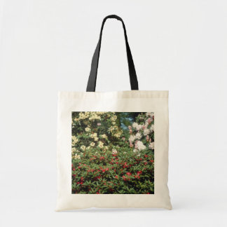 Yellow Rhododendrons flowers Budget Tote Bag