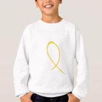 Yellow Ribbon Customizable Sweatshirt