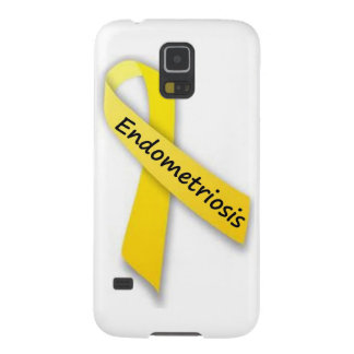 Yellow Ribbon for Endometriosis Case For Galaxy S5