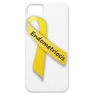 Yellow Ribbon for Endometriosis iPhone 5 Cover