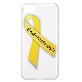 Yellow Ribbon for Endometriosis iPhone 5C Cases