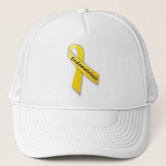 Yellow Ribbon for Endometriosis Trucker Hat
