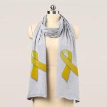 Yellow Ribbon Jersey Scarf