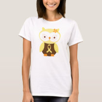 Yellow Ribbon Owl Awareness T-Shirt