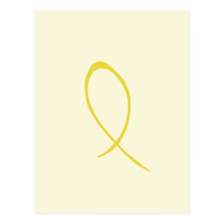 Yellow Ribbon Postcard