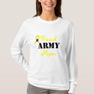 YELLOW RIBBON PROUD ARMY MOM SHIRT