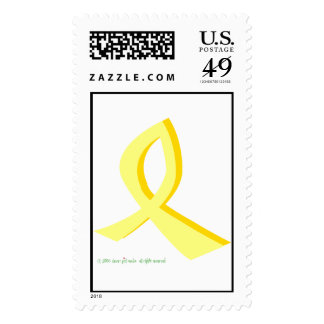 yellow ribbon stamps