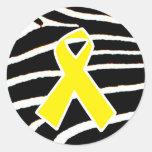 Yellow Ribbon Stickers