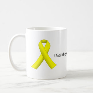 Yellow Ribbon (Until they all come home)  Mug