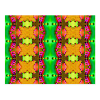 yellow ribbons fractal postcard