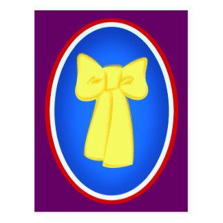 Yellow Ribbons Postcard